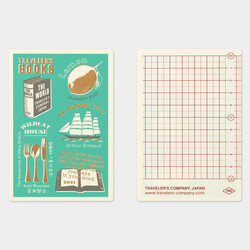 Traveler's Notebook Plastic Sheet Underlay Passport Size 2021 Limited Edition