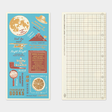 Traveler's Notebook Plastic Sheet Underlay Regular Size 2021 Limited Edition