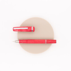 Esterbrook JR Pocket Pen Fountain Pena Carmine Red