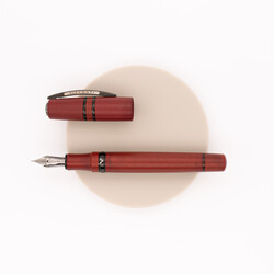 Visconti Homo Sapiens Lava Color Fountain Pen Terra di Siena