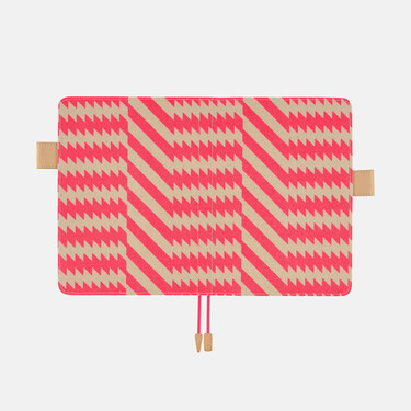 Hobonichi Techo Cousin A5 Mintdesigns: Zig-Zag (Pink) Set Cover + 2021 Diary