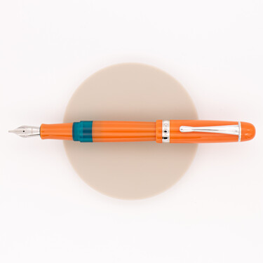 Opus 88 Jazz Solid Color Fountain Pen Orange