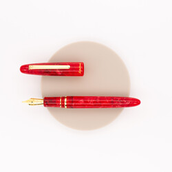 Esterbrook Estie Fountain Pen Maraschino & Gold Special Edition