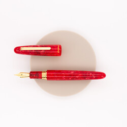 Esterbrook Estie Oversized Fountain Pen Maraschino & Gold Special Edition