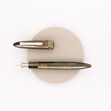 Tibaldi Bononia Fountain Pen Martini Olive