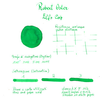 Robert Oster Elfs Cap Ink Bottle 50 ml Special Edition
