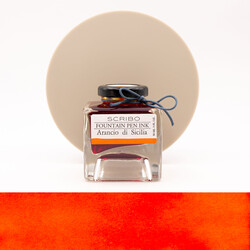 Scribo Arancio di Sicilia Ink Bottle 90 ml