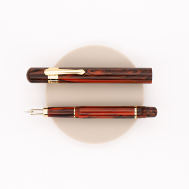 Taccia Covenant Fountain Pen Persimmon Winds