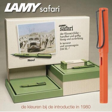 Lamy Safari Origin Rollerball Pen Savannah Green 2021 Special Edition