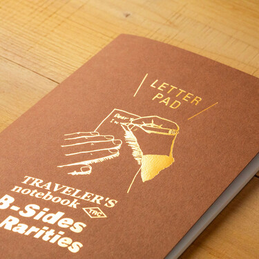 Traveler's Notebook B-Sides & Rarities Refill Regular Size Letter Pad Edizione Limitata