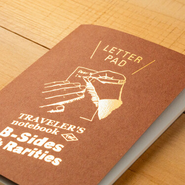 Traveler's Notebook B-Sides & Rarities Refill Passport Size Letter Pad Limited Edition