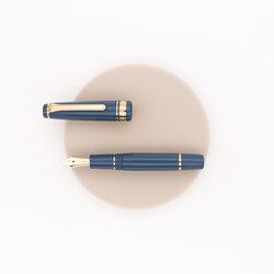 Sailor Professional Gear Slim Mini Fountain Pen Ayur Blue