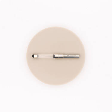 Leonardo Officina Italiana Screw-In Converter for Fountain Pen Rhodium
