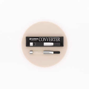 Platinum Fountain Pen Converter Rhodium