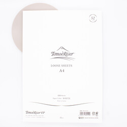Tomoe River Paper A4 Loose Sheets White 52g Blank