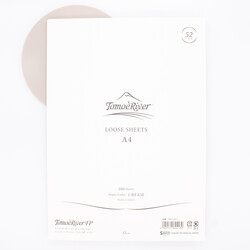 Tomoe River Paper A4 Loose Sheets Cream 52g Blank