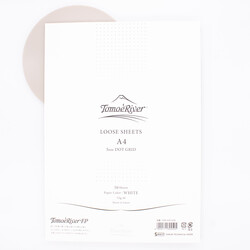 Tomoe River Paper A4 Loose Sheets White 52g Dot
