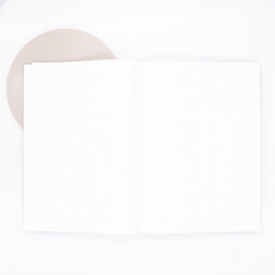 Tomoe River Notebook A5 White 52g Grid
