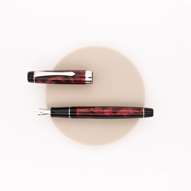Pilot Custom Heritage SE Fountain Pen Marble Red