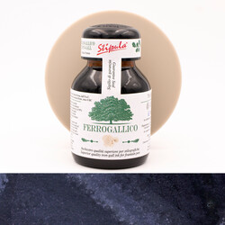 Stipula Calamo Iron Gall Misery Black Ink Bottle 70 ml
