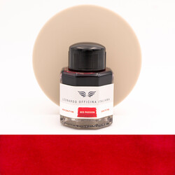 Leonardo Officina Italiana Passion Red Ink Bottle 40 ml