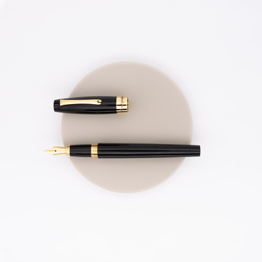 Montegrappa Felicità Fountain Pen Black Rose Gold