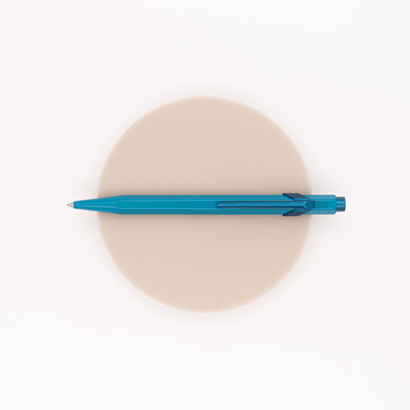 Caran d'Ache 849 Claim Your Style Ballpoint Pen Ice Blue Limited Edition