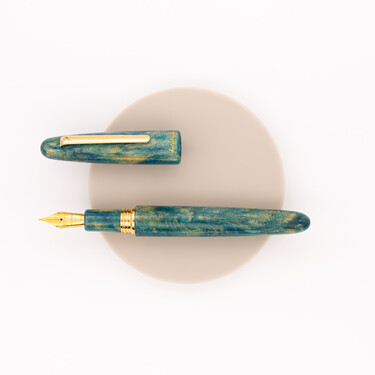 Esterbrook Estie Oversized Fountain Pen Gold Rush Frontier Green Limited Edition