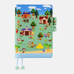 Hobonichi Techo Cousin A5 Animal Crossing: New Horizons: What shall we do today? Set Cover + 2022 Diary