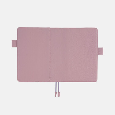 Hobonichi Techo Cousin A5 Leather: Lilac Set Cover + 2022 Diary