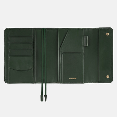 Hobonichi Techo Planner A6 Leather: Into the Forest Set Cover + 2022 Diary