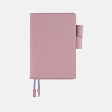 Hobonichi Techo Planner A6 Leather: Lilac Set Cover + 2022 Diary