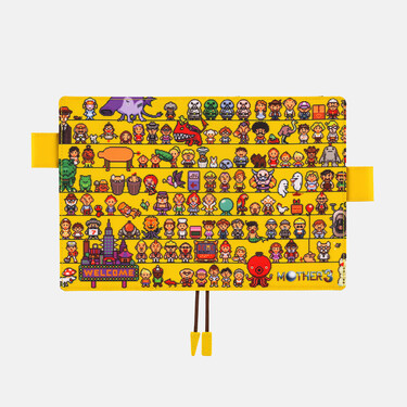 Hobonichi Techo Planner A6 Mother: Cast (Mother 3) Set Cover + 2022 Diary