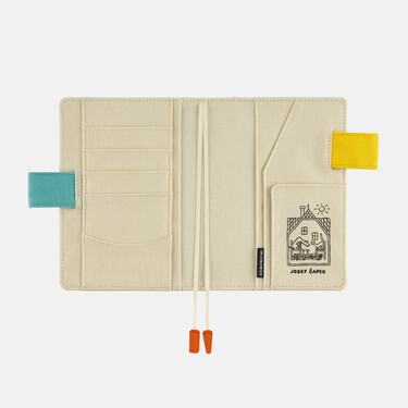 Hobonichi Techo Planner A6 Josef Čapek: Doggie and Pussycat Set Cover + 2022 Diary