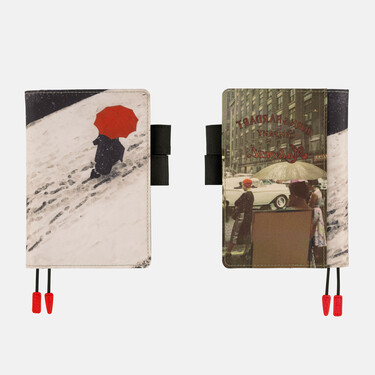 Hobonichi Techo Planner A6 Saul Leiter: Footprints Set Cover + 2022 Diary