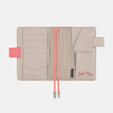 Hobonichi Techo Planner A6 Candy Stripper: Sweet Bunny (Pink) Set Cover + 2022 Diary