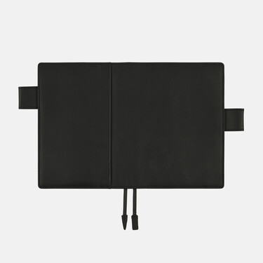 Hobonichi Techo Planner A6 TS Basic Black Set Leather Cover + 2022 Diary