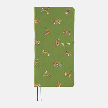 Hobonichi Techo Weeks 2022 Bow & Tie: Forest Tiger