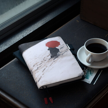 Hobonichi Techo Cousin A5 Saul Leiter: Footprints Set Cover + 2022 Diary
