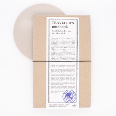 Traveler's Notebook Regular Size Nero