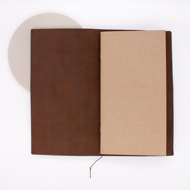 Traveler's Notebook Regular Size Brown
