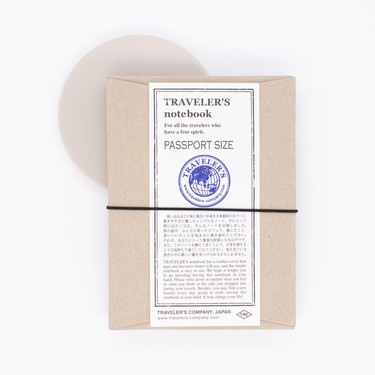 Traveler's Notebook Passport Size Black