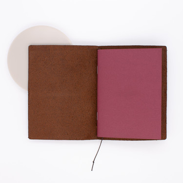 Midori Travelers Notebook Passport Size Brown PP Marrone
