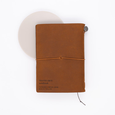 Traveler's Notebook Passport Size Camel