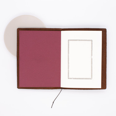 Traveler's Notebook Passport Size Marrone