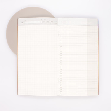 Traveler's Notebook Refill 005 Regular Size Free Diary