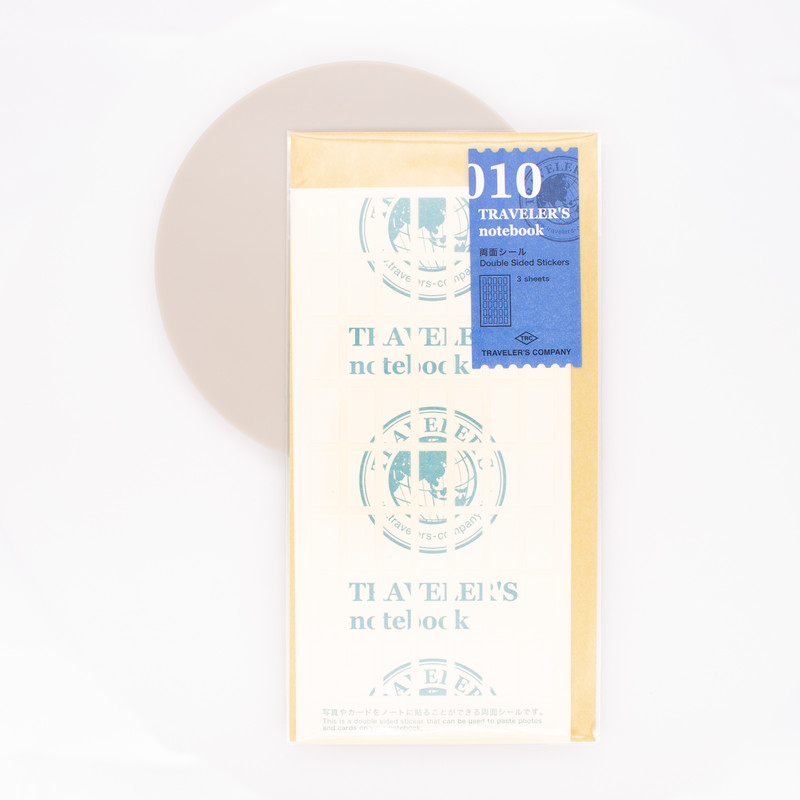Traveler's Notebook Refill 010 Regular Size Double Sided Stickers