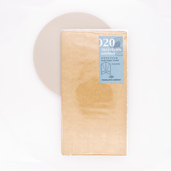 Traveler's Notebook Refill 020 Regular Size Kraft Paper Folder