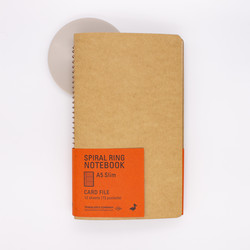 Traveler's  Company Spiral Ring Notebook A5 Slim Card File