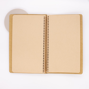 Traveler's Company Spiral Ring Notebook A5 Slim Kraft Paper
